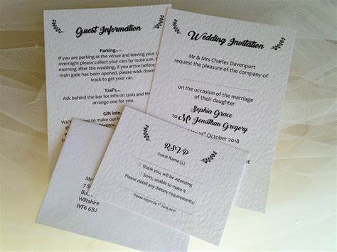 Burlap and Lace Wedding Invitations   Wedding Invites