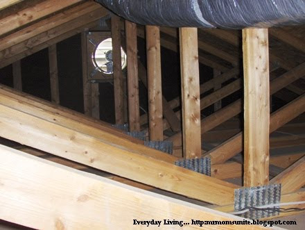 photo of attic fan