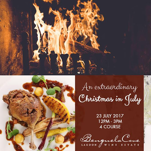 An extraordinary Christmas in July at Benguela Cove