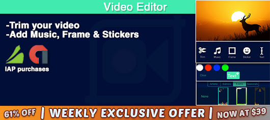 Buy Video Editor Pro Source Code | AppnGameReskin