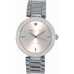 Anne Klein 1363SVSV Women's Quartz Diamond Silver Dial Bracelet Watch