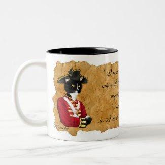 Red Coat Soldier Drink Mug mug