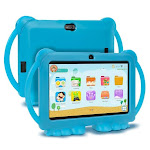 7INCH Kids Tablet 1GB,16GB Quad Core Kids learning tablet Tablet and blue / United States