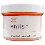 Sea Salt Body Scrub Exfoliator with Coconut and Avocado Oils | Aniise Mandarin Sea Salt Body Scrub