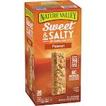 Nature Valley Sweet & Salty Peanut Granola Bars(1.2 oz., 36)