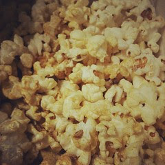 curry flavored popcorn...yum #food