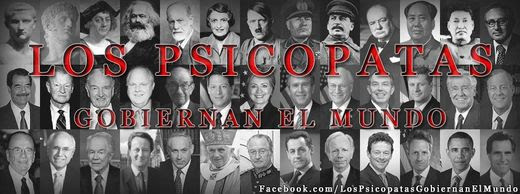 los psicópatas gobiernan el mundo