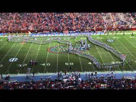 University of Florida Gator Band 2012 Pre game   YouTube