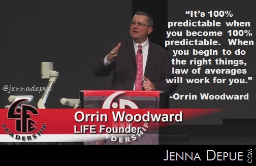 "LIFE Leadership: ""Law of Averages"" by Orrin Woodward • Jenna Depue's Blog"