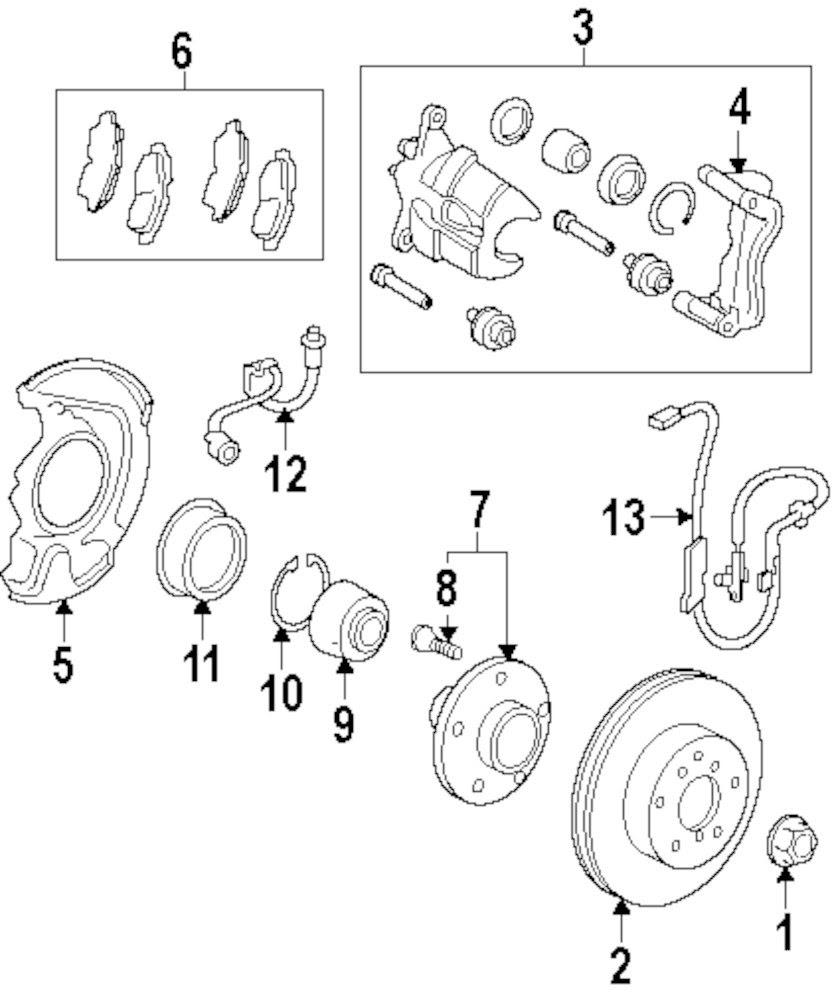 Lexus Es 350 Parts Diagram