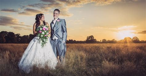 How It Was Shot & Edited #2   Sunset Wedding Portrait