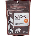 Navitas Naturals Cacao Raw Chocolate Nibs - 8 oz bag