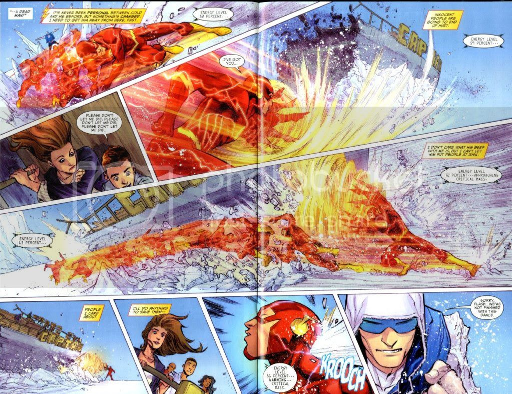 from Flash #6, by Francis Manapul and Brian Buccellato