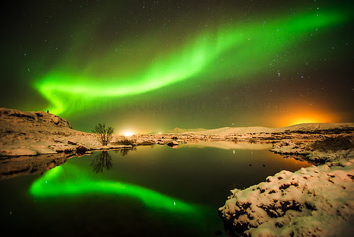 Amazing Aurora display in the sky
