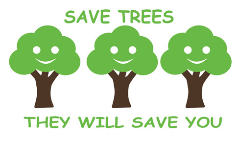 Image: Secrets of Successful Learning: Save Trees for a better future!!!