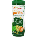 Happy Family Happy Puffs Organic SuperFoods Greens 2.1 oz.