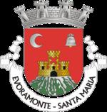 Brasão da freguesia de Evoramonte (Santa Maria)