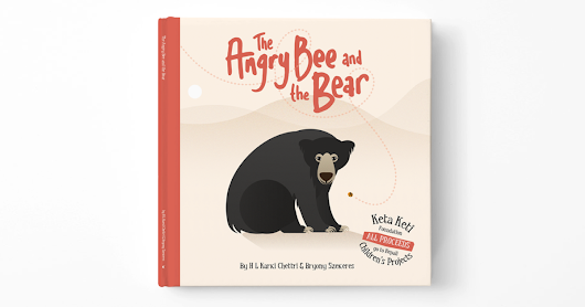 CLICK HERE to support The Angry Bee and the Bear: A children's book