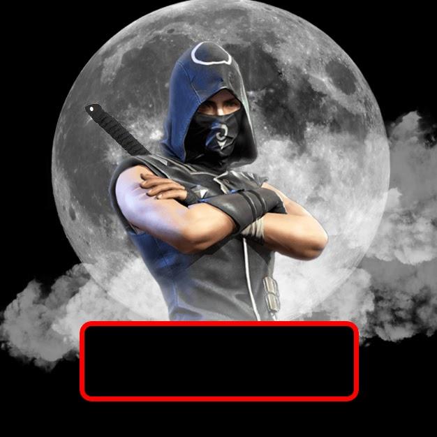 Tạo Logo Ninja Đen Free Fire cực ngầu