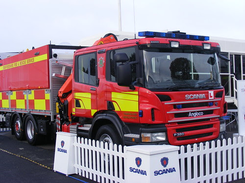 Staffordshire Fire and Rescue Driver Training Vehicle by Leftism/Phill