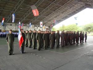 Tropa formada pelos militares do 2º/8º GAV