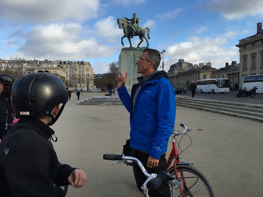 Touring Paris with Fat Tire Tours - Pitstops for Kids