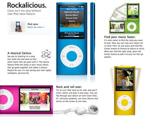 LUC!EN 拍攝的 Apple iPod nano view。