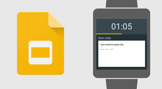 Google Slides now supports using Android Wear to control presentations