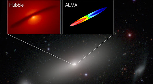 Astronomers determine exact mass of black hole in another galaxy | ExtremeTech