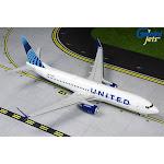 Gemini200 G2UAL763 United 737-800S 1-200 N37267 New Livery Model Airplane