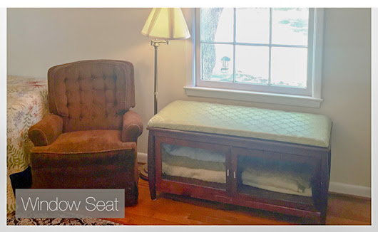 Upcycle An Entertainment Center Into A Window Seat | Care2 Healthy Living