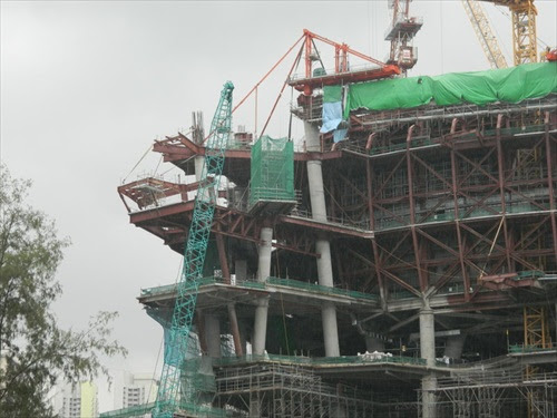 NFC Scandal The Star Vista Under Construction