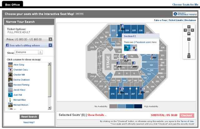 image of livenation - Before You Buy Concert Tickets, See Where Your Facebook Friends Are Sitting