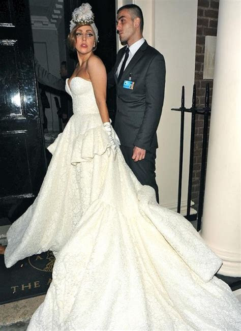 Lady GaGa's Wedding Dress Will Be Versace   Today's Evil