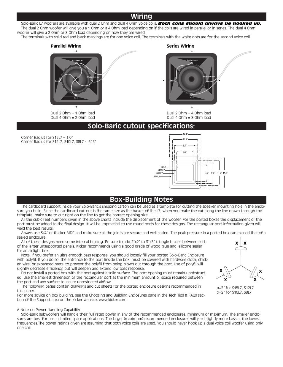 32 Kicker Solo Baric L7 Wiring Diagram