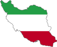 Map flag of Iran, SVG version of Image:Iran tr...