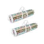 Elf Stor 83-DT5053 1075 Wrapping Paper Gift Wrap Storage Bag - 31 in. Rolls - Pack of 2