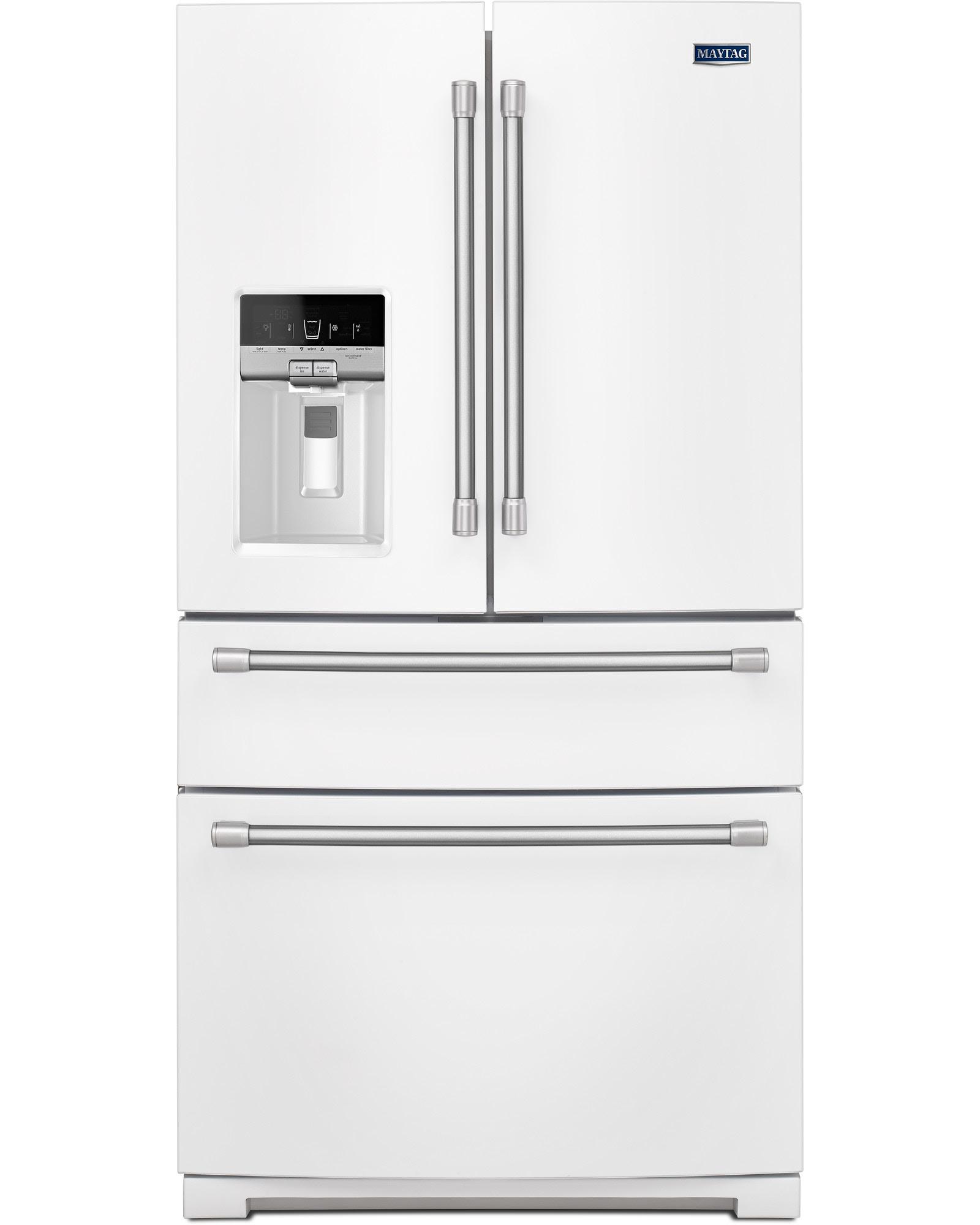 UPC Maytag MFX2876DRH 26 2 cu ft Bottom Freezer