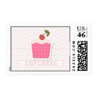 Cupcakes & Polka Dot Postage