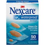 3M Nexcare Waterproof Assorted Bandages - 20ct. - 588-20PB