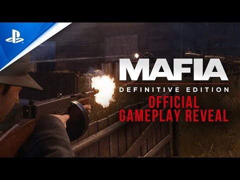 Mafia: Definitive Edition - Official Gameplay Reveal | PS4
