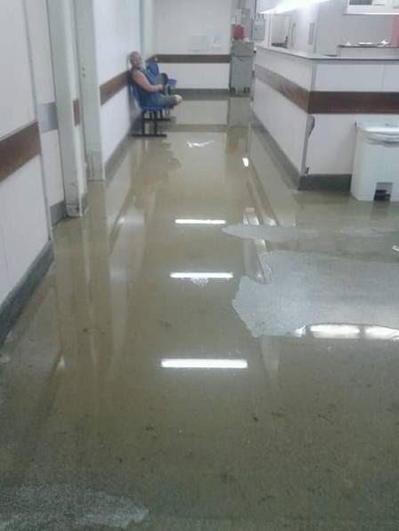 Corredor do Hospital Estadual Alberto Torres