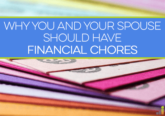 Why You and Your Spouse Should Have Financial Chores - Frugal Rules