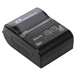 mht-p10 mini usb + bluetooth thermal receipt printer 48mm phone control for android, ios printing machine eu plug