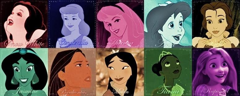 Princesses Colors - Disney Princess Fan Art (18818686 ...