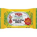 Vigo Yellow Rice - Low Sodium - 8 Ounce -PACK 12