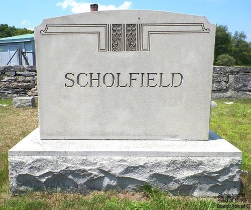 SCHOLFIELD by midgefrazel