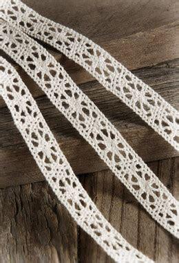 Ivory Cotton Lace Ribbon 1/2 inch x 10 yards