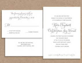 wording  couple wedding invitation