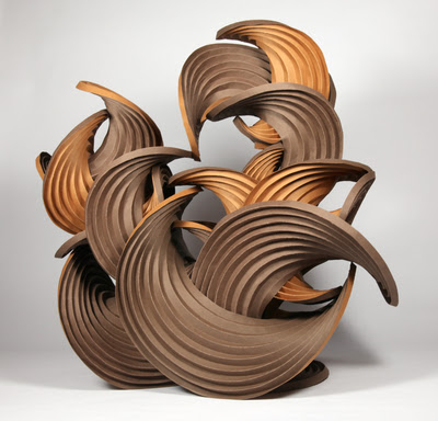 Curved-Crease Sculpture by Erik and Martin Demaine